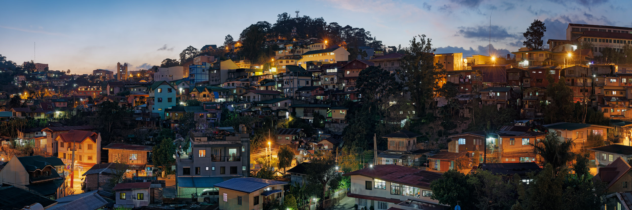 City of Baguio, Benguet, Summer Capital of the Philippines, night view 7