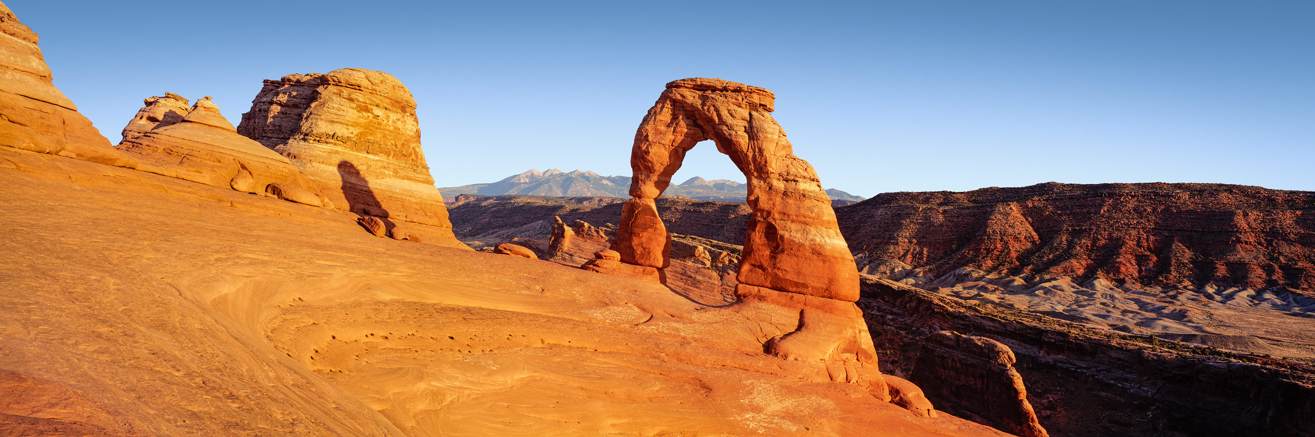 Delicate Arch, Arches National Park, Utah, USA day afternoon